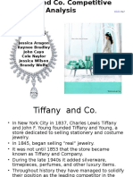 TIffany and Co. Competitive Analysis Presentation