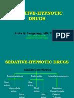 22 Sedative Hypnotic Drugs
