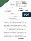 A copy of Umair Hamid's indictment