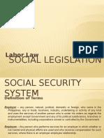 Social Legislation Dummy