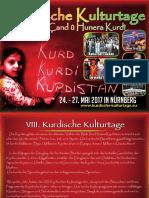 VIII. Kurdische Kulturtage 2017 in Nürnberg