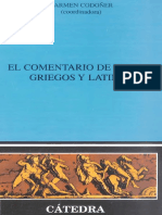 El comentario de textos griegos y latinos (Carmen Codoñer).pdf