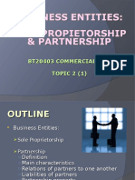 Topic2_1 Sole Proprietorship and Partnership 2017