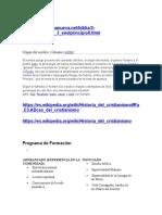 Programa de Formación