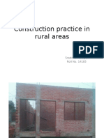 Construction Practice in Rural Areas
