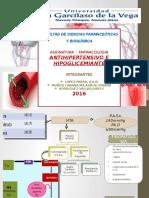 Antihipertensivos e Hipolipemiantes