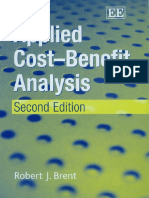 Book Brent Applied Cost Benefit Analysis PDF