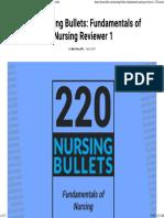 220 Nursing Bullets Fundamentals of Nursing Reviewer 1 • Nurseslabs.pdf