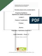 Unidad 3 Habilidades directivas