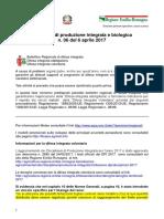 Bollettino Regionale n. 6 Del 6 Aprile 2017