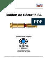 Boulon de Sécurité SL