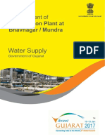 Desalination Plant at Bhgavnagar Mundra in Gujarat on PPP (1)
