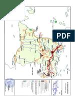 Peta Jaringan Jalan Nasional di Provinsi Banten