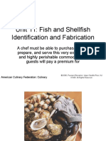 Fish and Shellfish Identification and Fabrication