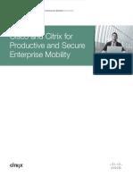 Cisco and Citrix Mobility White Paper