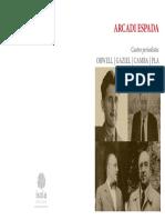 Cuatro Periodistas Orwell Gaziel Camba Pla_arcadi Espada