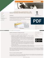 Create Custom Hierarchy in SAP BW