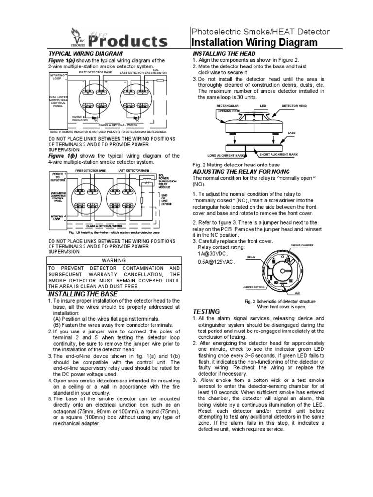 Dorable Mains Powered Smoke Alarm Wiring Diagram Elaboration - The ...