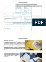 planning and assessment observations