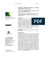 screening antibacterial activity of lawsonia inermis