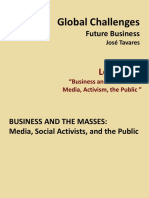 Lecture XII Business and the Masses