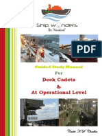 Guided Study Manual for Deck Cadets and at Operational Level