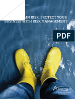 Apics Suppy Chain Risk Protect Your Business With Risk Management