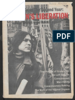 Notes From the Second Year Womens Liberation