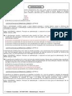 Gabarito Comentado Especialidades Administração - Versão A