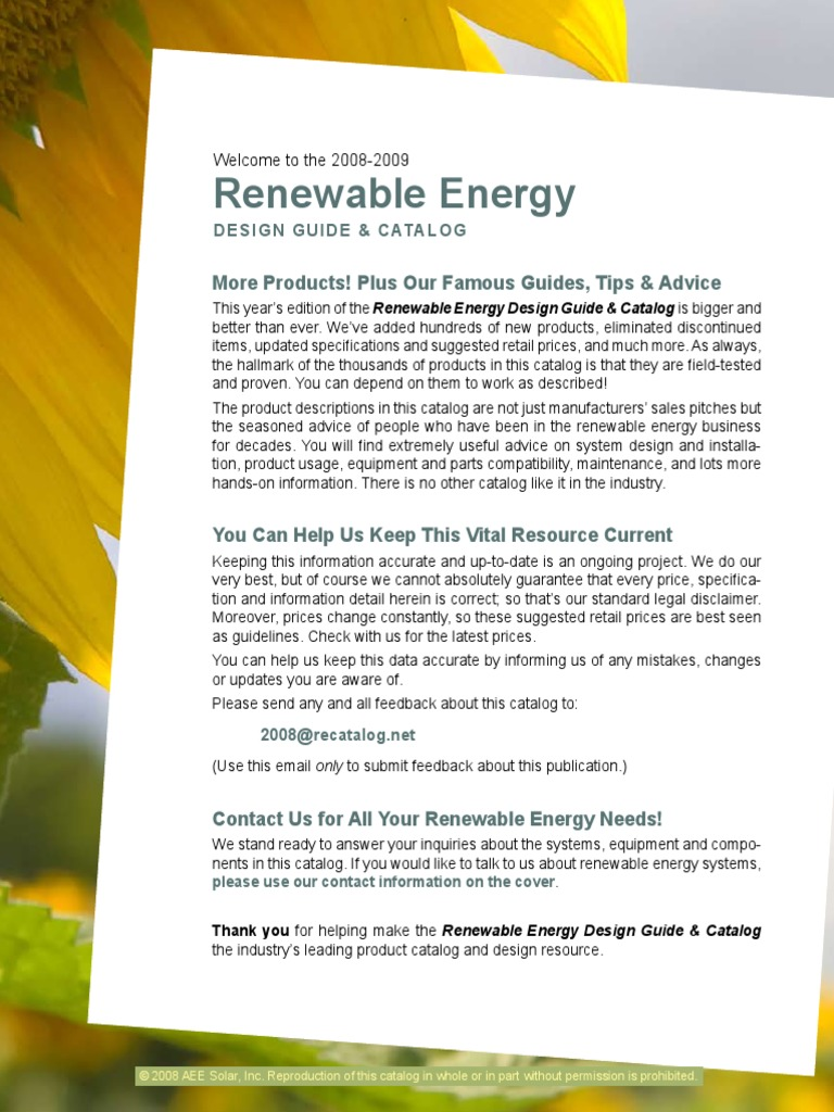 AEE Solar Catalog-low   Refrigerator   Photovoltaics on