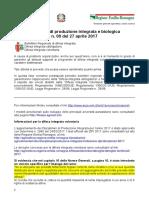 Bollettino Regionale n. 9 Del 27 Aprile 2017