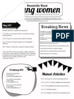 Hrotm Yw Newsletter Template 1 Page Final