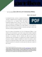 20121018 Artículo Ley de Contrataciones Públicas _Barriles