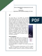 Introducción Al Pensamiento Pedagogico de Luis Vives-1