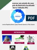 Logística Reversa - Franquia Boticário - Serra Talhada (PE)