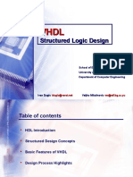 VLSI Structured Logic Design