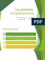 UVEITIS-ANTERIOR Non Granulomatosa