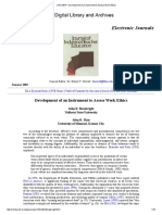 JITE v39n4 - Development of an Instrument to Assess Work Ethics.pdf