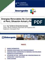 Energia Renovables No Convencionales en el Perú - Situación Actual y Perspectivas