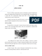 Optical Fiber Notes