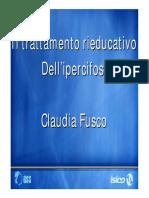 Il trattamento rieducativo dell'ipercifosi - Fusco