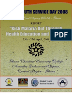 Report on Malaria Prevention through Sports and Education