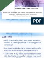 GSR investigation using TRXF.pptx