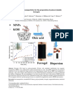 Multidomain Iron Nanoparticles for the Preparation of Polyacrylamide Ferrogels
