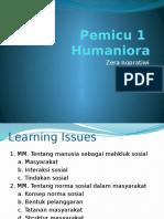 Pemicu 1 Humaniora