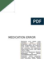 Jenis Medication Error