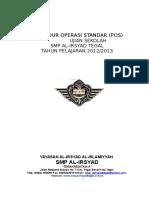 Pos Us Smp Al-irsyad Tegal 2012-2013