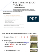 GDC Instructions