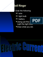 Electric Current PowerPoint