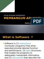 10. Sistem Informasi Keperawatan - Membangun Aplikasi (Pak Badrus Zaman)
